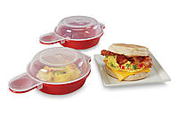 Форма для приготовления яиц в микроволновке Easy Eggwich FV