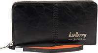 Портмоне-клатч Baellerry Leather черный, фото 1