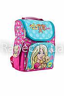 Ранец каркасный для девочек H-11 Barbie mint