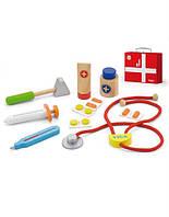 """Игрушка Viga Toys """"Чемоданчик доктора"""", детский игровой набор доктор"""