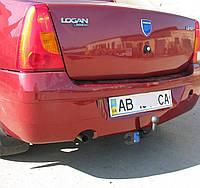 Фаркоп на Renault Logan седан (2004-2013) Рено Логан