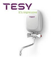 Проточный водонагреватель Tesy IWH 50 X01 KI со смесителем