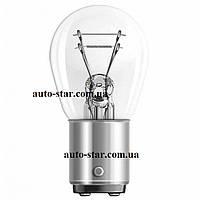 Лампа P21/4W 12V 21/4W BAZ15d