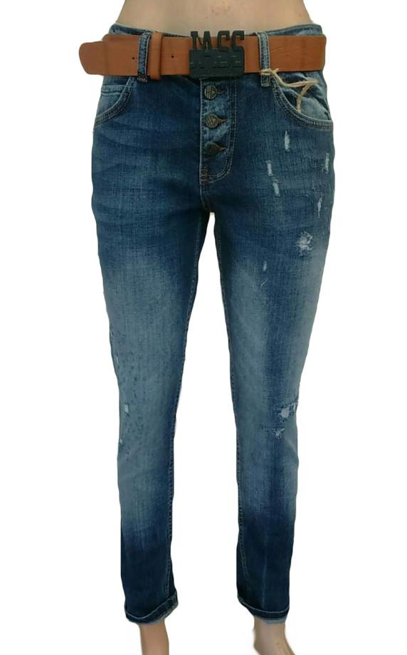 Женские джинсы JASS jeans 218 темно-синие