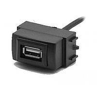 Разъем USB в штатную заглушку Carav 17-006 для а/м NISSAN Almera/Tiida/Teana/Navara (1 порт)