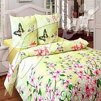 Комплект постельного белья семейный (5-предметный) ТМ Блакит (Беларусь), Цветение сакуры