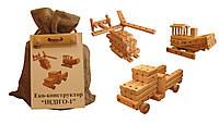 Эко-конструктор деревянный Индиго-1