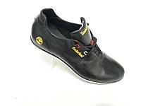 Кожаные мужские кроссовки Timberland черный 44р.