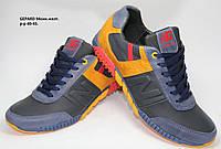 Мужские спортивные кроссовки New Balance из натуральной кожи и замша