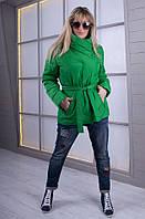 Женская   весенняя куртка Dakota малахит   ТМ VICCO 44-54 размеры