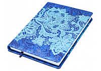 Ежедневник Кружево, темно-синий Е21787-24