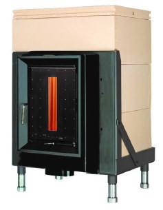 Массивная теплоаккумулирующая печь Brunner HKD 5.1/20 doors with control window GOF 57 x 37 cm