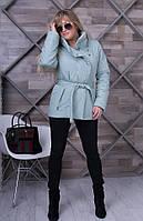 Женская   весенняя куртка Dakota махито    ТМ VICCO 44-54 размеры