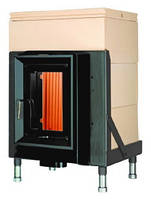 Массивная теплоаккумулирующая печь Brunner HKD 5.1/20 GOF 37 x 57 cm