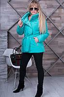 Женская  бирюзовая  весенняя куртка Dakota   ТМ VICCO 44-54 размеры