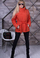 Женская  красная  весенняя куртка Dakota   ТМ VICCO 44-54 размеры