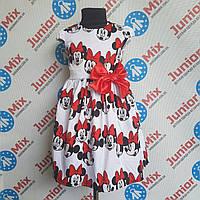 Платье на девочку с бантом  DEVA