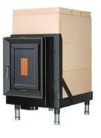 Массивная теплоаккумулирующая печь Brunner HKD 5.1/20 cast iron doors GOF 37 x 57 cm