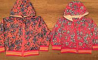 Легкая ветровка в цветочек на девочек 1-4 года