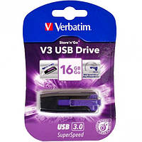 Флешка USB 3.0 16Gb Verbatim SuperSpeed V3 фиолетовая