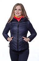 Женская куртка на холлофайбере SYMONDER M, Темно-синий