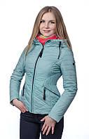 Женская куртка на холлофайбере SYMONDER M, Мятный