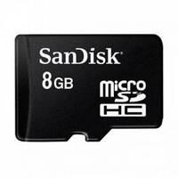 Карта памяти Micro SDHC 8Gb, SanDisk Class 10