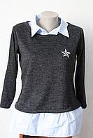Блуза-рубашка зірочка, фото 1