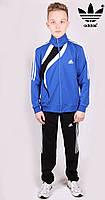Костюм спортивный мужской Adidas 1318 Blue Адидас Размеры S