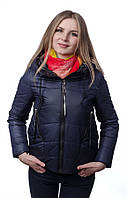 Женская куртка - парка на холлофайбере SYMONDER M, Темно-синий