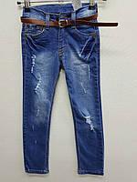 Брюки джинс для девочки 18, упаковка 4 шт. рост от 9 до 12 лет