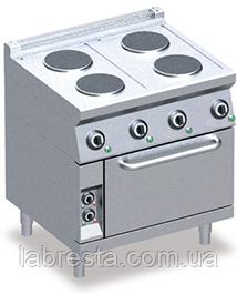 Плита електрична Emmepi 704EFN, з духовкою, Італія