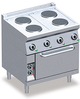 Плита електрична Emmepi 704EFN, з духовкою, Італія, фото 1