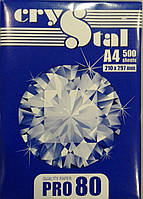 Офисная бумага для принтера Crystal 80 А4  Pro 80 С