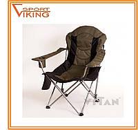 """Складной стул-кресло """"Директор"""" зеленый, фото 1"""