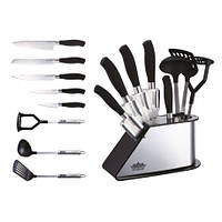 Набор ножей + кухонный набор Peterhof PH-22382 (8 пред.)