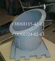 Патрубок выгрузного шнека комбайна СК-5М Нива