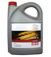 TOYOTA Synthetic 5W-40 5 моторное масло - отзывы, цены, заказ