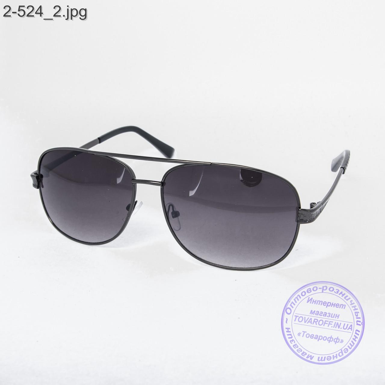 Мужские солнцезащитные очки черные - 2-524 - купить по лучшей цене в ... 8453cf3c788