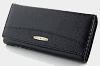 Длинный кожаный кошелек Tailian T 0826 black