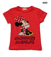 Футболка Minnie Mouse для девочки. 1-2;  7-8 лет  , фото 1