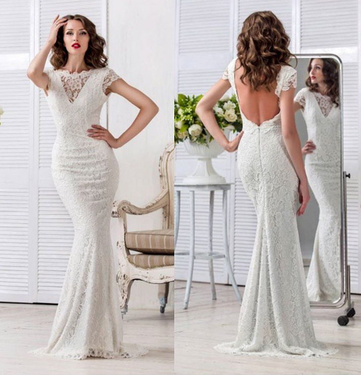 f225afd51be Гипюровые вечерние платье в пол с открытой спиной  продажа