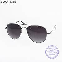 Солнцезащитные подростковые очки Авиатор - 2-3024