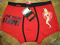 FABIO Мужские трусы боксеры  - шорты красные, фото 1