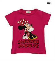 Футболка Minnie Mouse для девочки.  98-104 см, фото 1