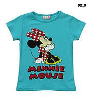 Футболка Minnie Mouse для девочки. 86-92;  98-104;  122-128 см, фото 1