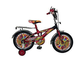 """Детский велосипед Mustang Hotwheels-18"""". Уценка!"""