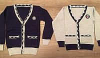 Джемпер с карманами на мальчика 2,5-6 лет