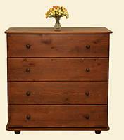 Классический комод из натурального дерева производства мебельной фабрики Скиф. Модель К-5