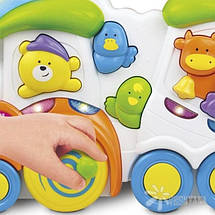 """Музыкальная игрушка Weina """"Паровозик с животными"""" (2106), фото 3"""